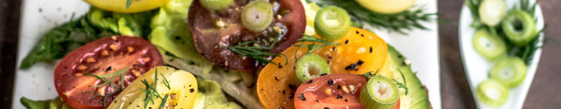 Bücher über vegane & vegetarische Küche