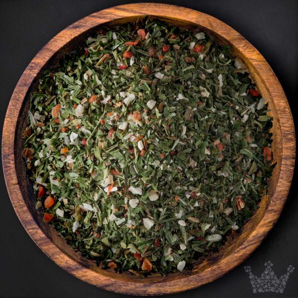 Salatkräuter, grob gemahlen