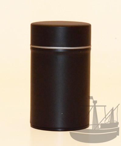 Gewürzdose mit Aromaverschluss, 63 x 105 mm, schwarz