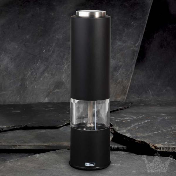 AdHoc Tropica, 20 cm, elektrisch, schwarz, Pfeffer- oder Salzmühle