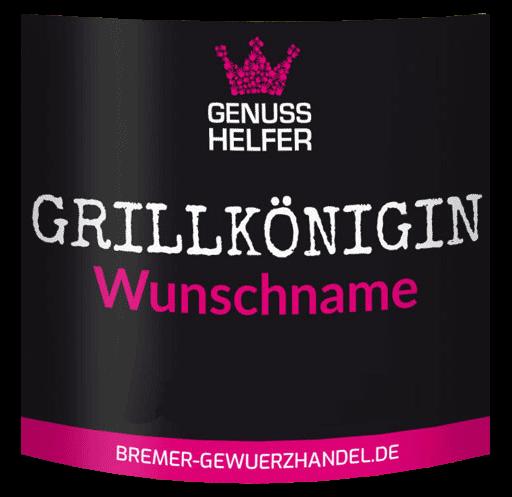 grillkoenigin etikett beispiel