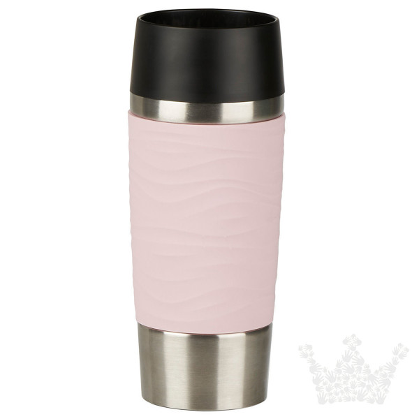 Emsa Travel Mug Waves 0,36l, pink