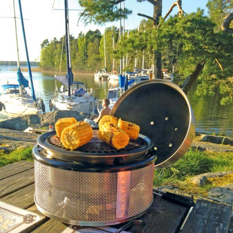 cobb grill gemuese grillen outdoor