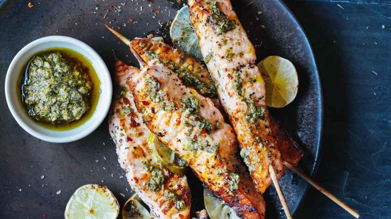 Grillen Fisch Spiesse Bremer Gewuerzhandel