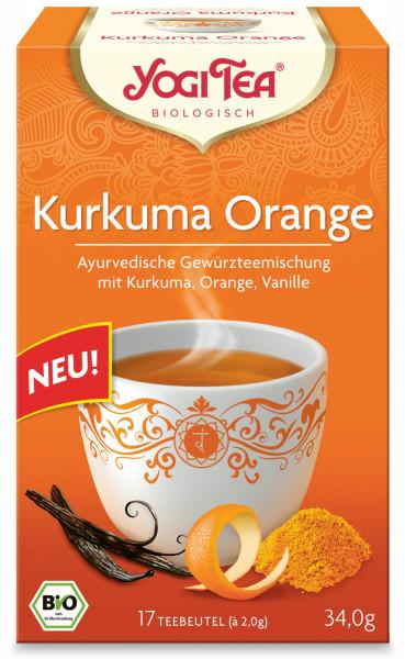 Yogi Tee Kurkuma Orange, BIO
