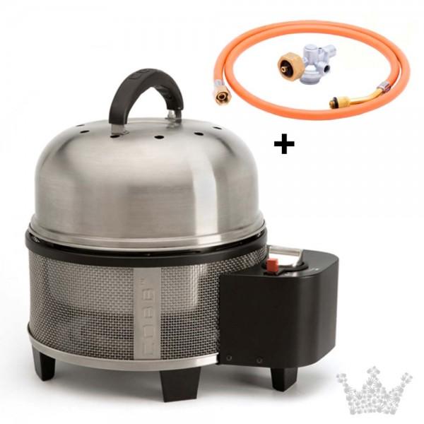 COBB Grill Premier GAS Set 2 inkl. Deckel, Griddle, Gasadapter