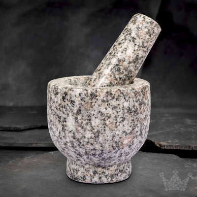 Granit-Mörser & Stößel Cilio Eros,1,0 kg, Farbe: granit