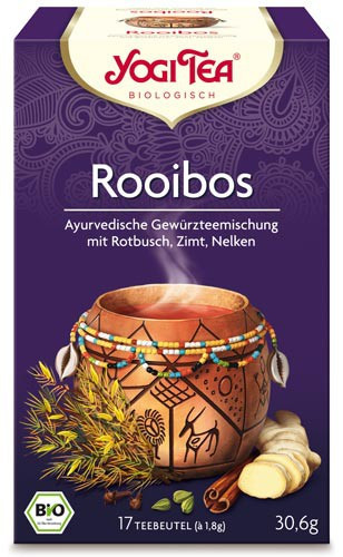 Yogi Tee Rooibos, vormals African Spice, BIO