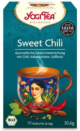 Yogi Tee Sweet Chili Mexican Spice, BIO