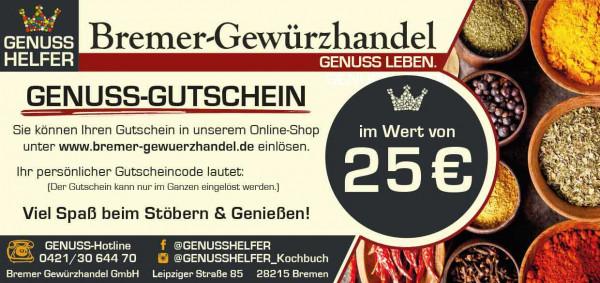 Geschenk-Gutschein über 25 EUR
