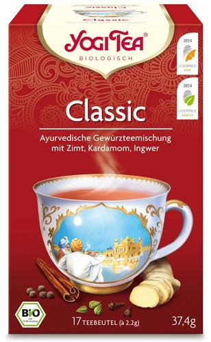 Yogi Tee Classic, Chai, BIO