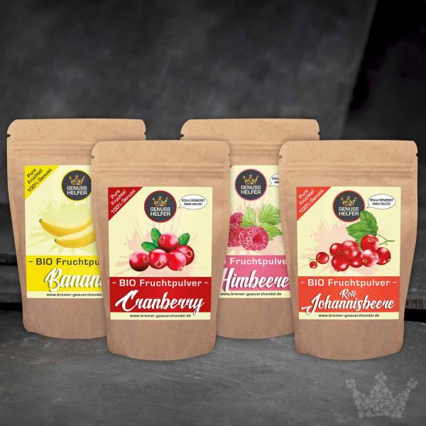 BIO Fruchtpulver Probier-Set 1