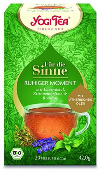 Yogi Tee Für die Sinne - ruhiger Moment, BIO