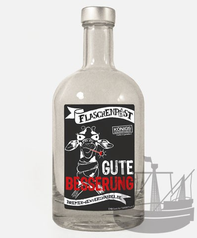 Flaschenpost, Gute Besserung, 500ml