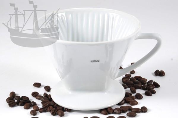 Kaffeefilter aus Porzellan, Größe 4