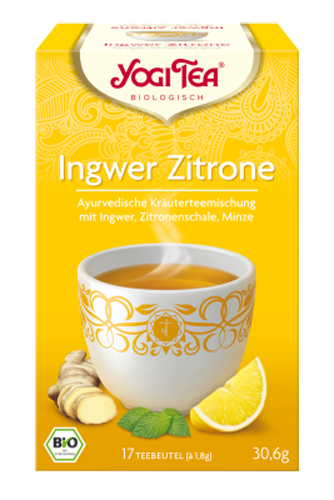 Yogi Tee Ingwer Zitrone Tee, BIO