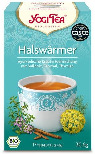 Yogi Tee Halswärmer, BIO