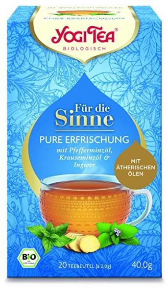 Yogi Tee Für die Sinne - pure Erfrischung, BIO