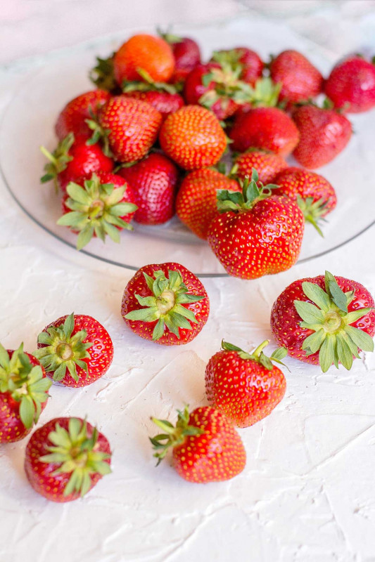 Gegrillte Erdbeeren 3 1 klein