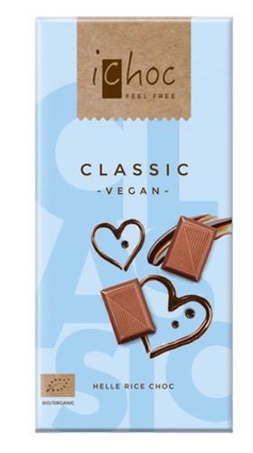 Ichoc Classic, vegane Schokolade, BIO