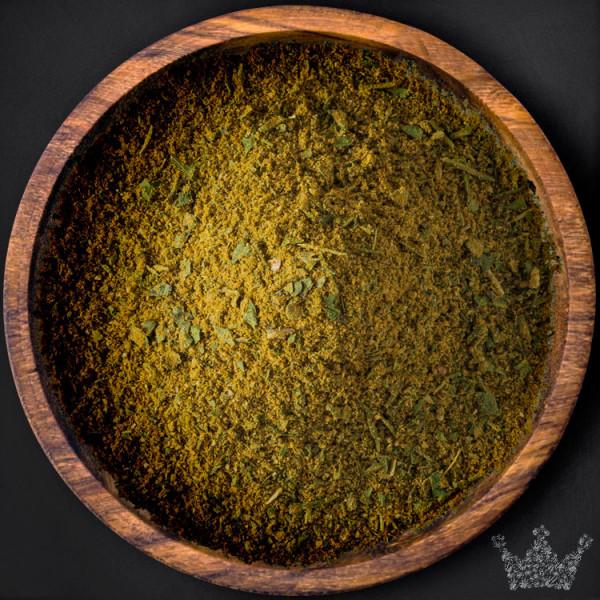 Curry Grün, gemahlen