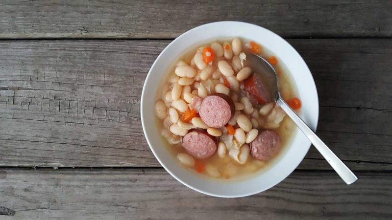 Bohnensuppe klein