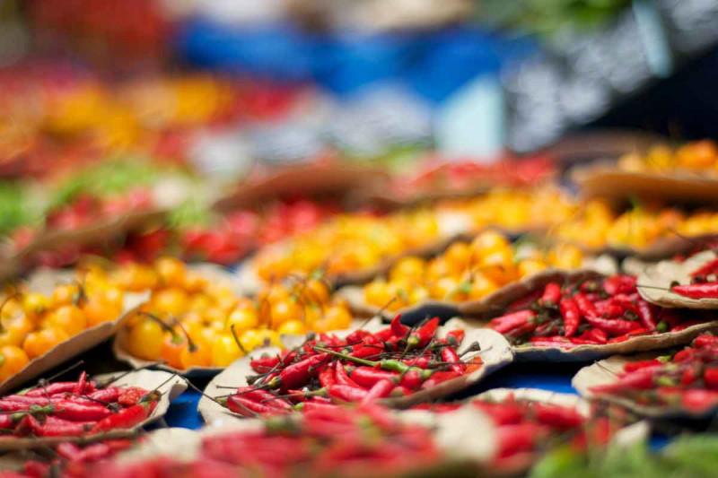 Chili Pfeffer Essen Farben Bremer Gewuerzhandel