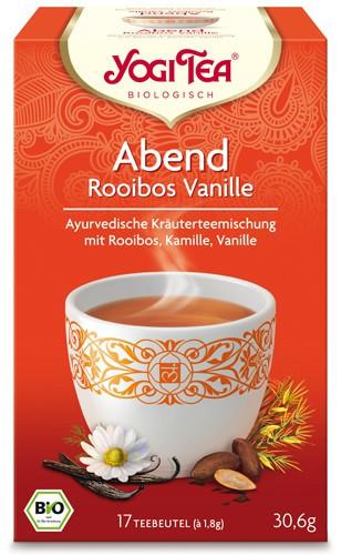Yogi Tee Abend Rooibos Vanille, BIO