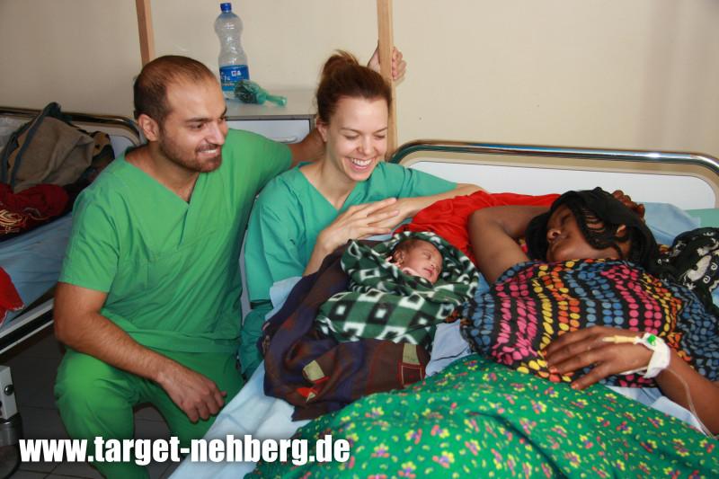 TARGET e V  Sichere Geburt in der Geburtshilfeklinik in der Danakilwuste in Afar