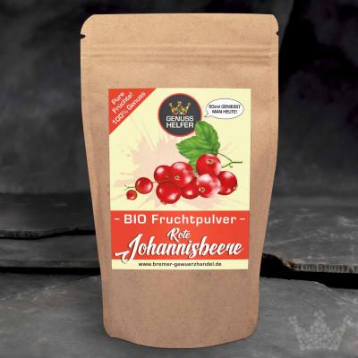 BIO Fruchtpulver Rote Johannisbeere