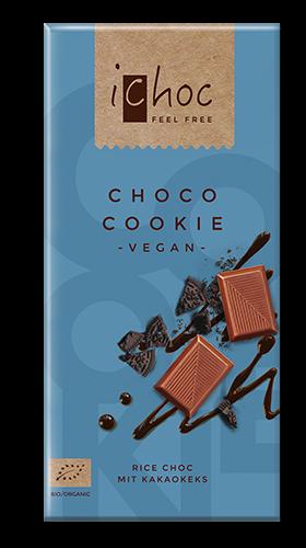 Ichoc Choco Cookie, vegane Schokolade, BIO