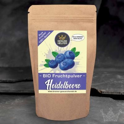 BIO Fruchtpulver Heidelbeere