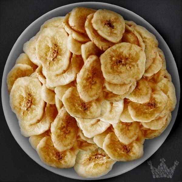 Bananenscheiben BIO, getrocknet