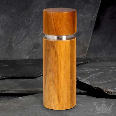 AdHoc Profi, 19 cm, Akazie / Edelstahl, Pfeffer- oder Salzmühle