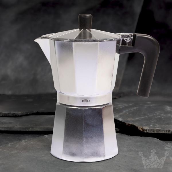 Espressokocher Classico Induktion für 6 Tassen