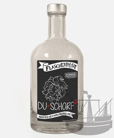 Flaschenpost, Du = scharf, 500ml