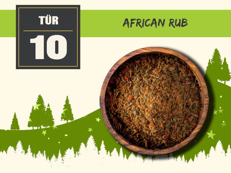 10 african rub