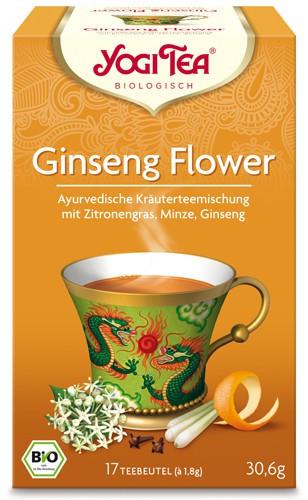 Yogi Tee Tao Ginseng Flower, BIO