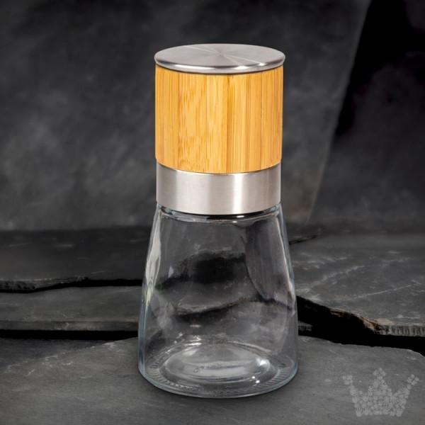 Allrounder Gewürzmühle 13 cm, Bambus / Edelstahl