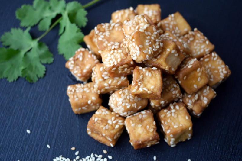 tofu panieren frittieren sesam staerke bremer gewuerzhandel