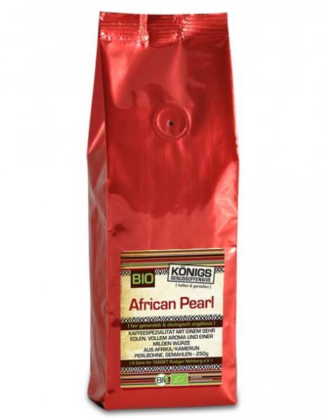 African Pearl Kaffee, BIO, gemahlen