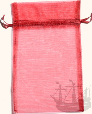 Organzabeutel, Geschenkverpackung, 20x12 cm, bordeaux