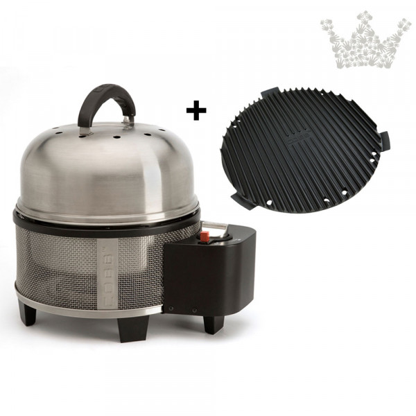 COBB Grill Gas Deluxe Set 1 inkl. Deckel, Griddle, Kochbuch