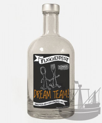 Flaschenpost, Dream Team, 500ml