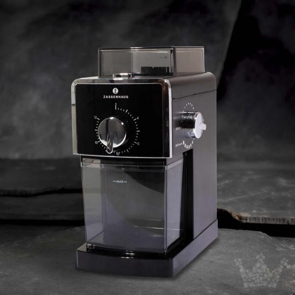 Elektrische Kaffeemühle Kingston, Zassenhaus, schwarz