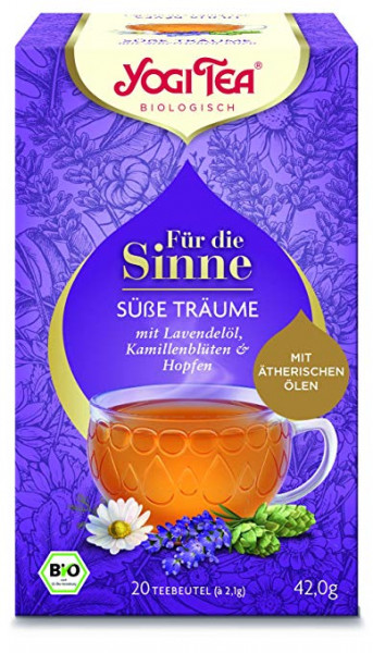 Yogi Tee Für die Sinne - süße Träume,BIO