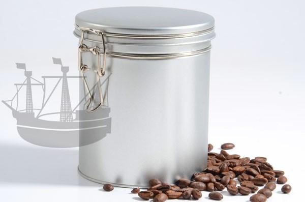 Gewürzdose, Kaffeedose mit Bügelverschluß, rund, 102 x 122 mm