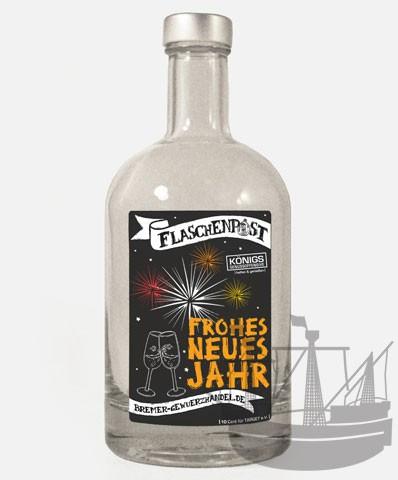 Flaschenpost, Frohes neues Jahr, 500ml