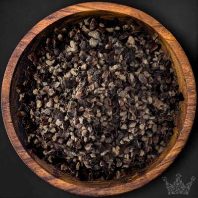 Pfeffer Sarawak schwarz, geschrotet