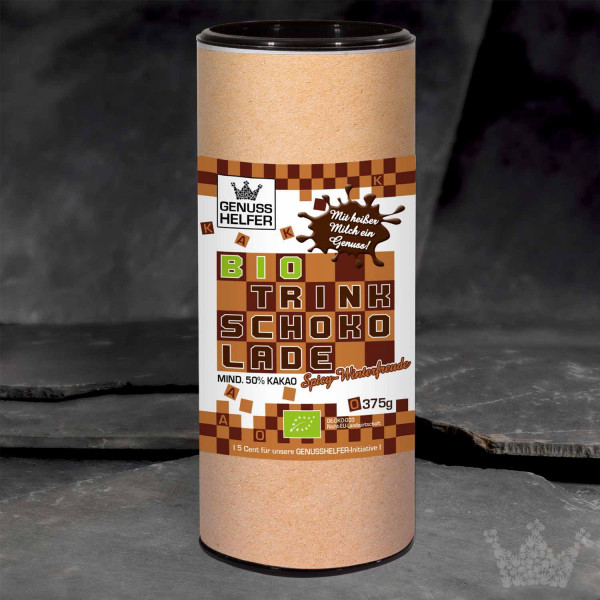 Kakao Trinkschokolade Spicy Winterfreude, BIO